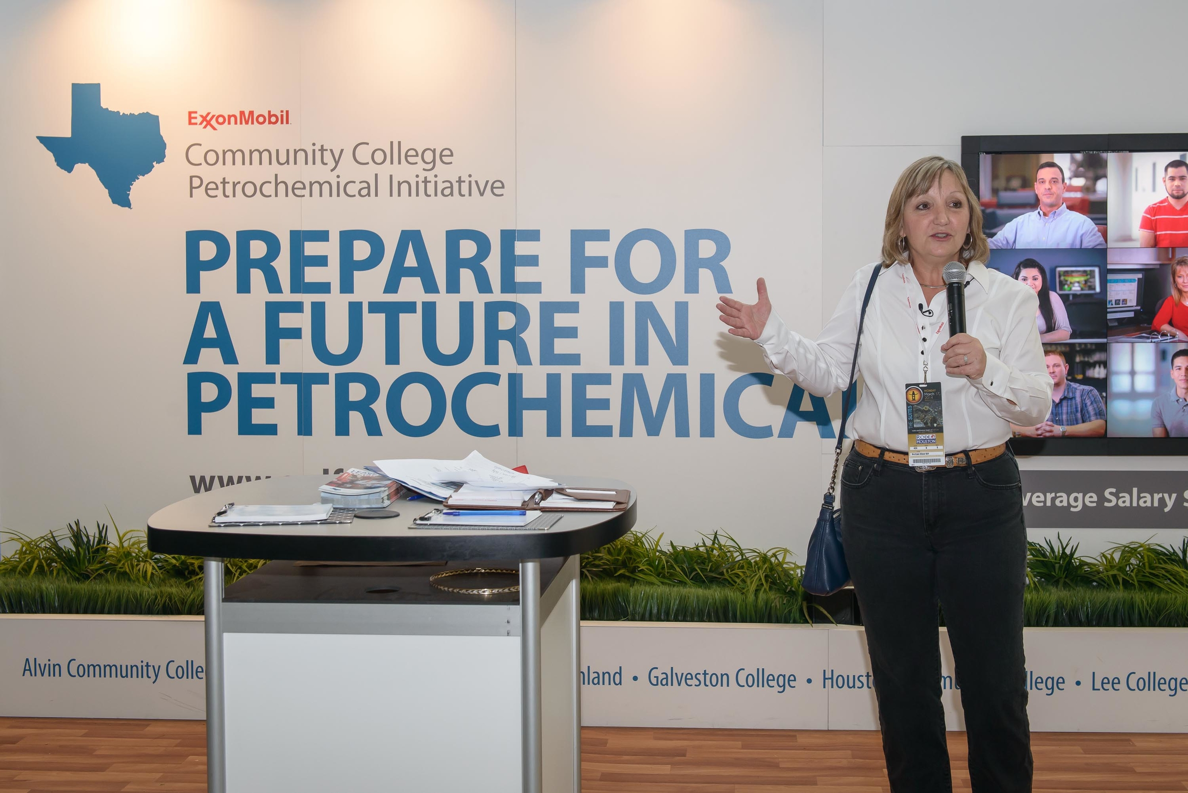 Lynne Lachenmyer, SVP of ExxonMobil Chemical Company, Houston, Texas ...